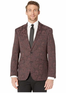 Kenneth Cole Patterned Evening Jacket with Stretch