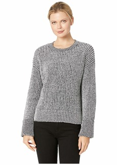 Kenneth Cole Plaited Crew Pullover