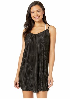 Kenneth Cole Pleated Perfection Slip Dress Cover-Up