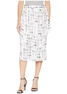 Kenneth Cole Pleated Skirt