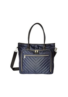 Kenneth Cole Polyester Twill Chevron Tote