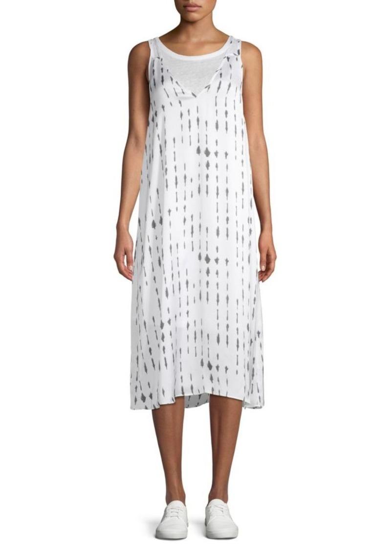 Kenneth Cole Printed Tank Dress