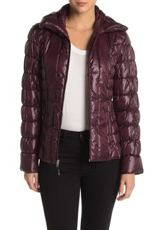 Kenneth Cole Quilted Packable Puffer Jacket