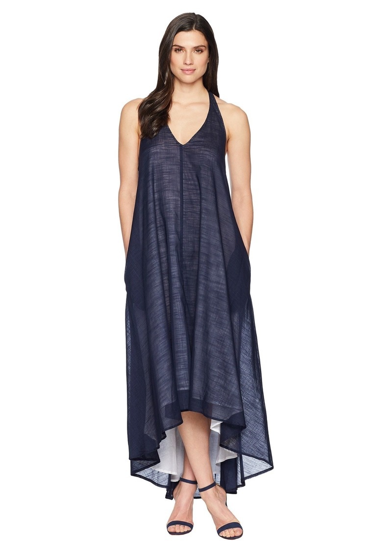 Kenneth Cole Racerback Twist Strap Dress