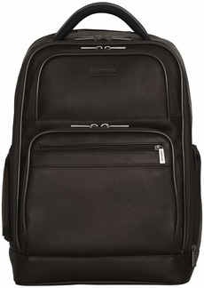 Reaction Kenneth Cole Ease-Back Leather Computer Backpack