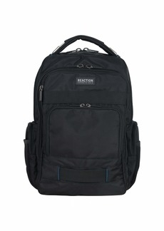 Reaction Kenneth Cole Triple Compartment Laptop Backpack in Tear Resistant Pindot