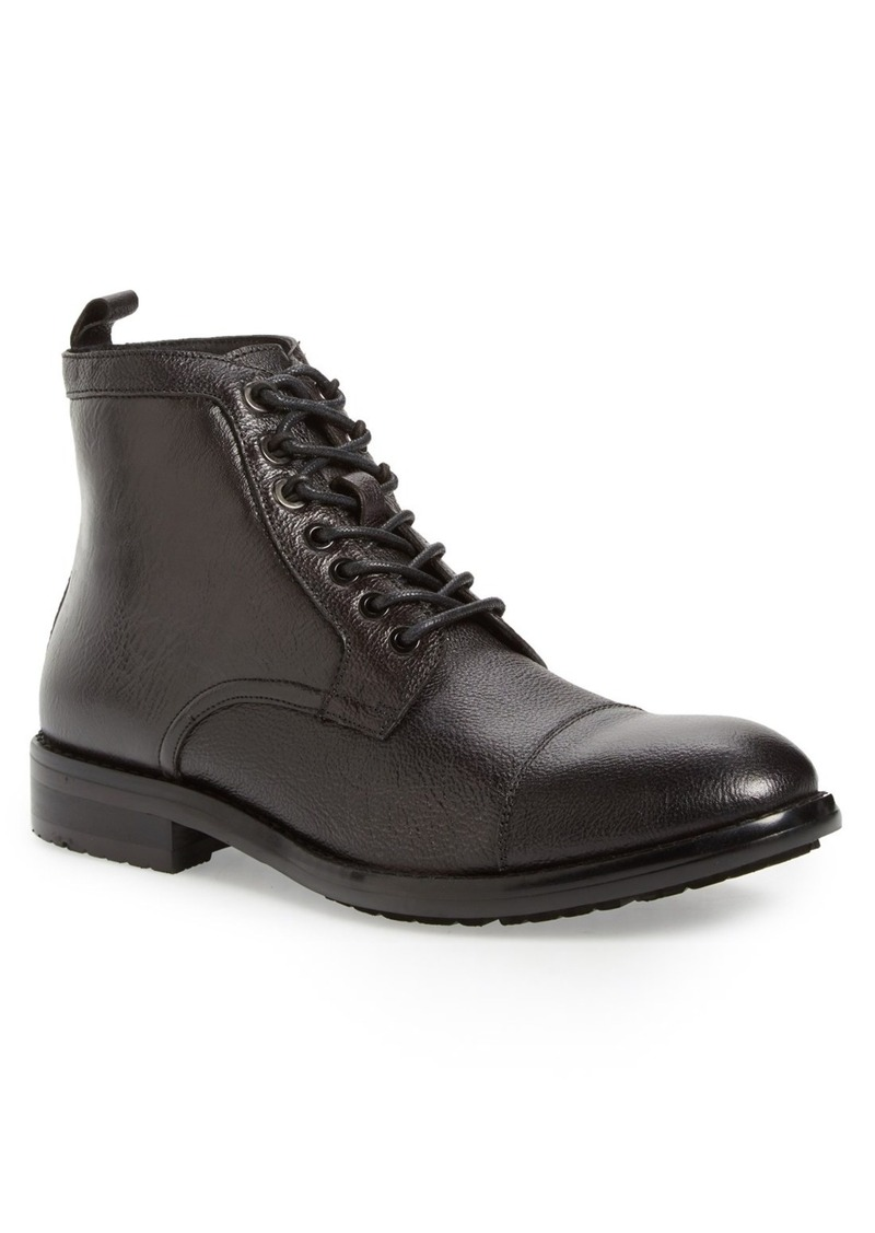 Reaction Kenneth Cole Truck-Er' Cap Toe Boot (Men)
