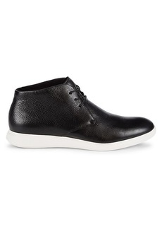 Kenneth Cole Reecepod Leather Chukka Sneakers