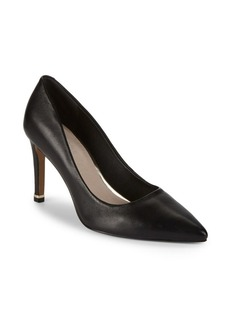 Kenneth Cole Ricki Leather Point Toe Pumps