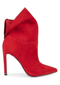 Kenneth Cole Riley Stiletto Suede Booties