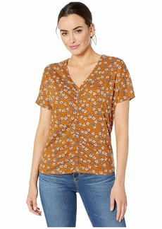 Kenneth Cole Ruched Front Top