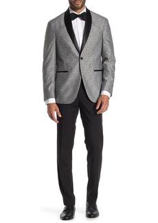 Kenneth Cole Shawl Collar Slim Fit Tuxedo