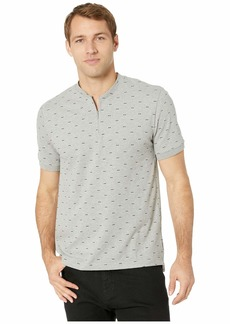 Kenneth Cole Short Sleeve 1/4 Zip Pattern
