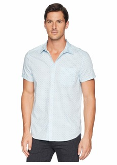 Kenneth Cole Short Sleeve Ditsy Print