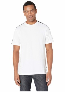 Short Sleeve Kenneth Cole Logo Tape Crew Tee