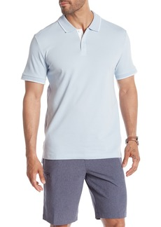 Kenneth Cole Short Sleeve Knit Polo