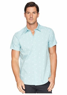 Kenneth Cole Short Sleeve Pineapple Shirt