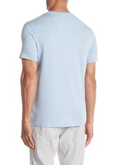Kenneth Cole Short Sleeve Square Dot T-Shirt