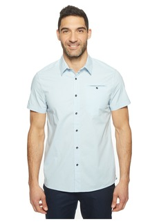 Kenneth Cole Short Sleeve Stretch Ripstop Shirt