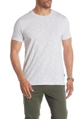 Kenneth Cole Short Sleeve Stripe Crew Neck T-Shirt