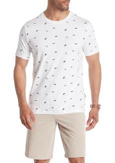 Kenneth Cole Short Sleeve Sunglasses Print T-Shirt
