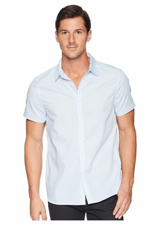 Kenneth Cole Short Sleeve Triangles Print Shirt