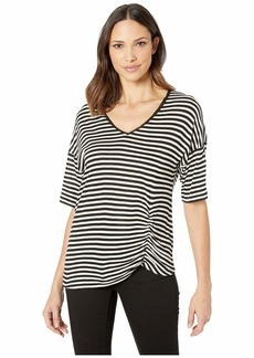 Kenneth Cole Side Ruched Tee