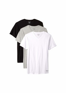 Kenneth Cole Slim Fit 3-Pack V-Neck Tee