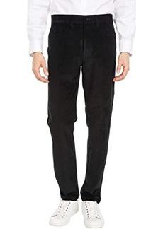 Kenneth Cole Slim Fit Five-Pocket Stretch 18-Wale Cord Flex Waist Casual Pants