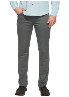 Kenneth Cole Slim Sateen Five-Pocket Pants