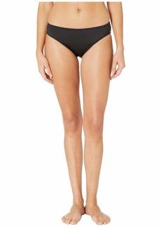 Kenneth Cole Solid Mid Bikini Bottoms