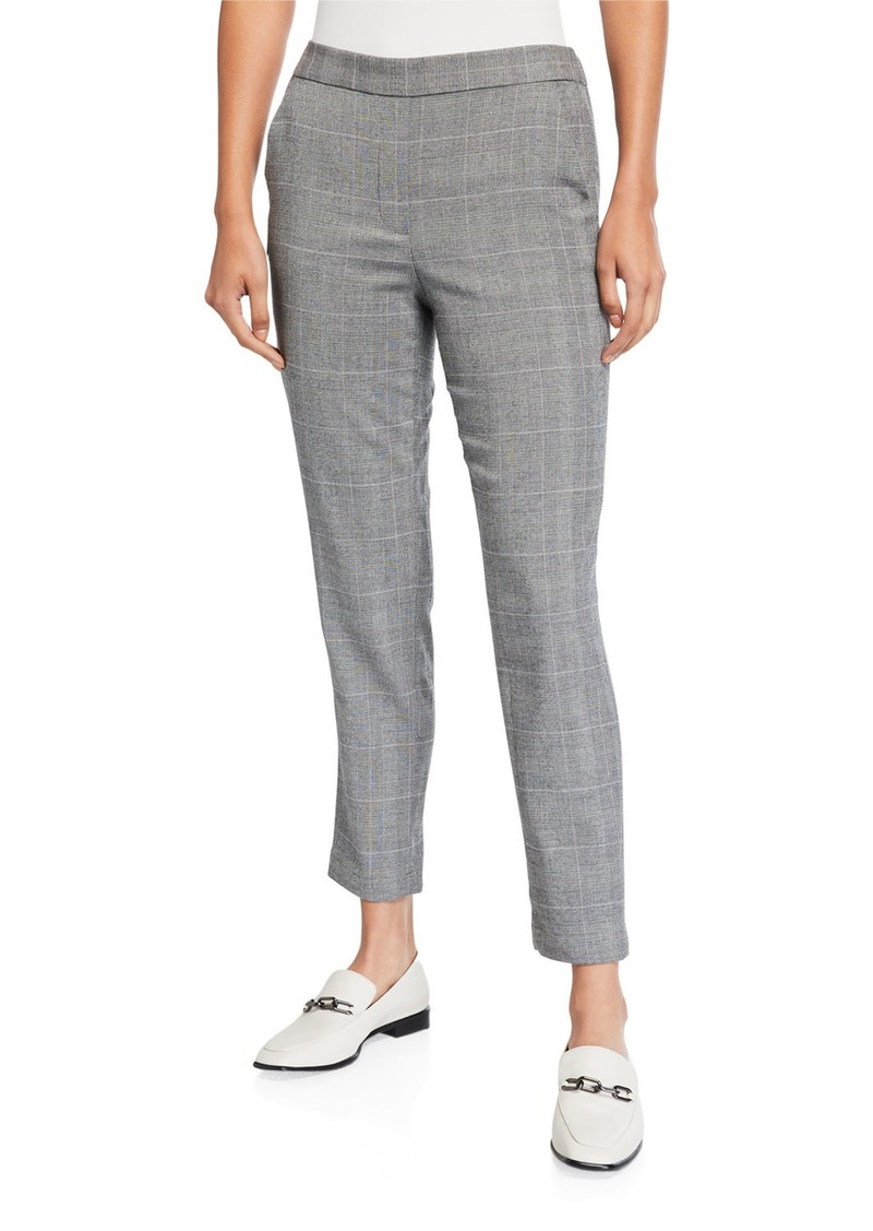 Kenneth Cole Straight Leg Pull-On Pants