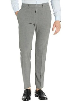 Kenneth Cole Stretch Pinstripe Slim Fit Flat Front Dress Pants