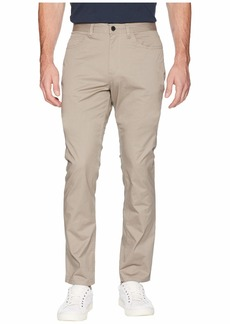 Kenneth Cole Stretch Sateen Five-Pocket Casual Pants