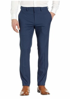 Kenneth Cole Stretch Shadow Check Slim Fit Dress Pants