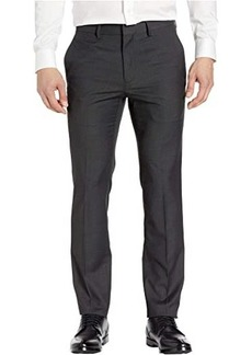 Kenneth Cole Stretch Textured Weave Slim Fit Dress Pants