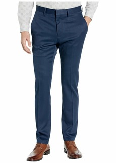 Kenneth Cole Stretch Urban Heather Slim Fit Flat Front Dress Pants