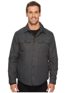 Kenneth Cole Two-Pocket Pieced Shirt Jacket