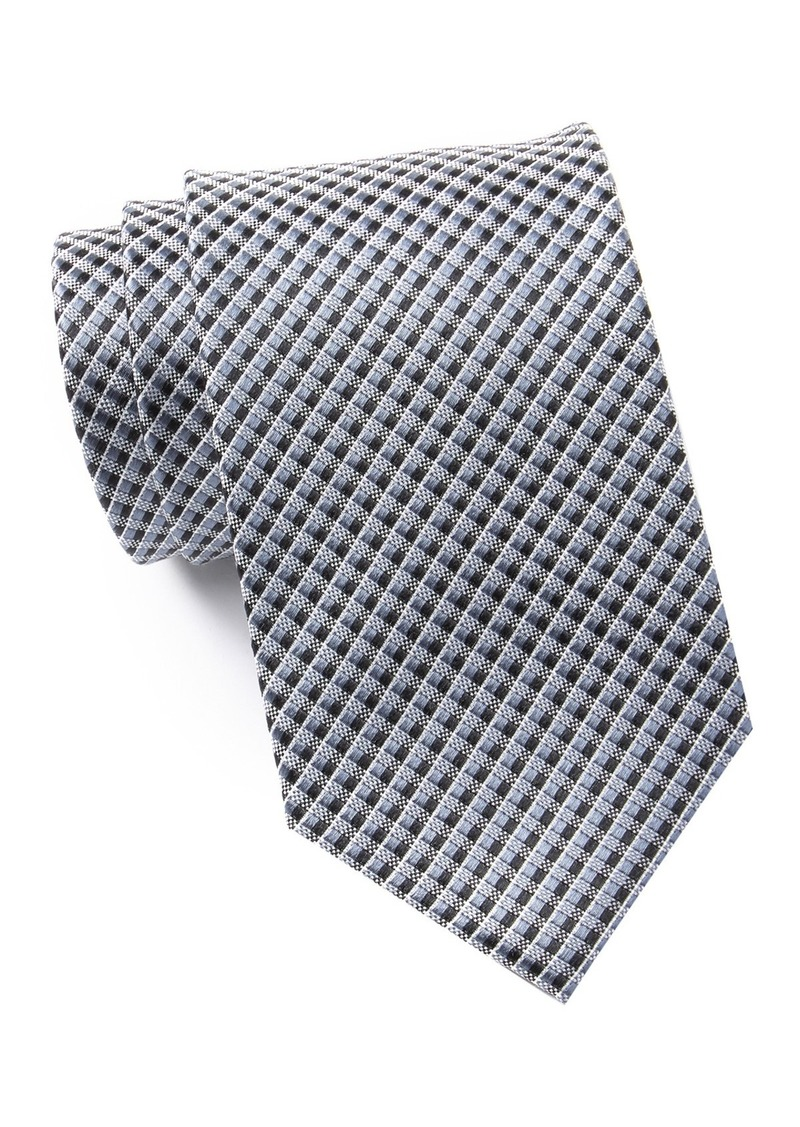 Kenneth Cole Two Tone Micro Silk  Tie