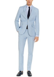 Unlisted by Kenneth Cole Men's Slim-Fit Stretch Chambray Suit, Created for Macy's