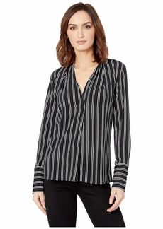 Kenneth Cole V-Neck Blouse