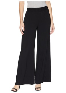 Kenneth Cole Wide Leg Pull-On Trousers