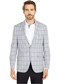 Kenneth Cole Windowpane Plaid Sportcoat