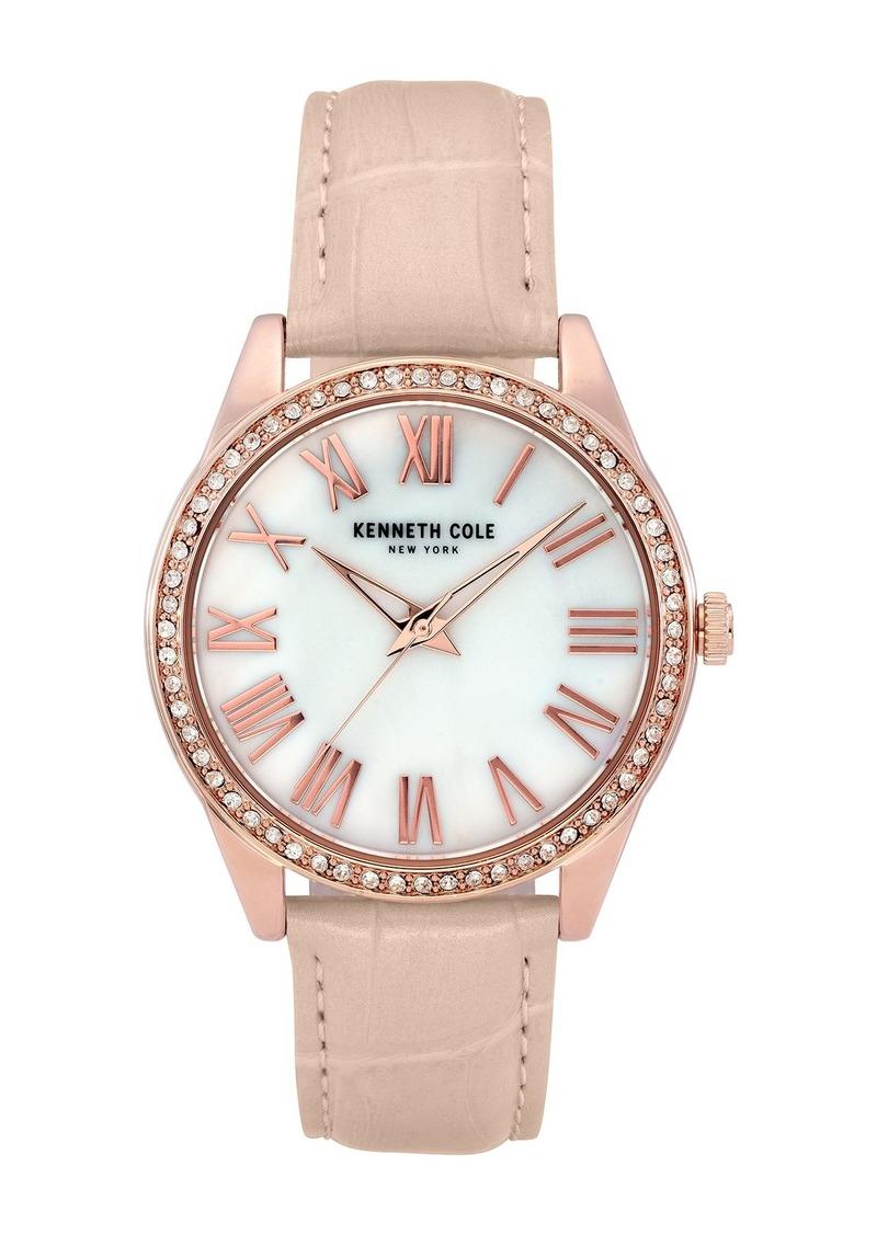 Kenneth Cole Women's Classic Beige Watch, 39.5mm