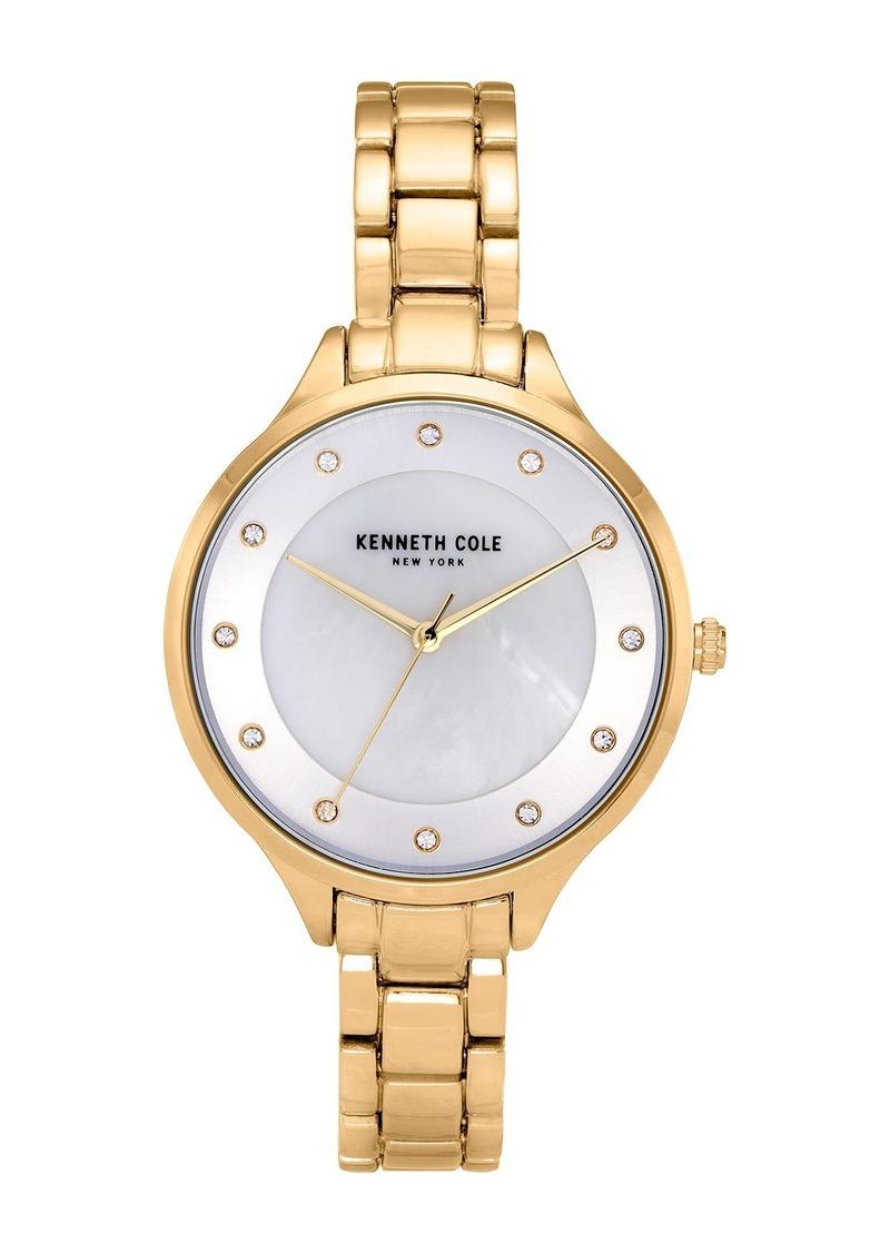 Kenneth Cole Women's Classic Hamilton Gold Watch, 36mm