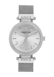 Kenneth Cole Women's Classic Mesh Bracelet Watch, 34mm