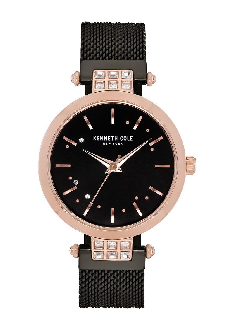 Kenneth Cole Women's Classic Mesh Bracelet Watch, 34mm