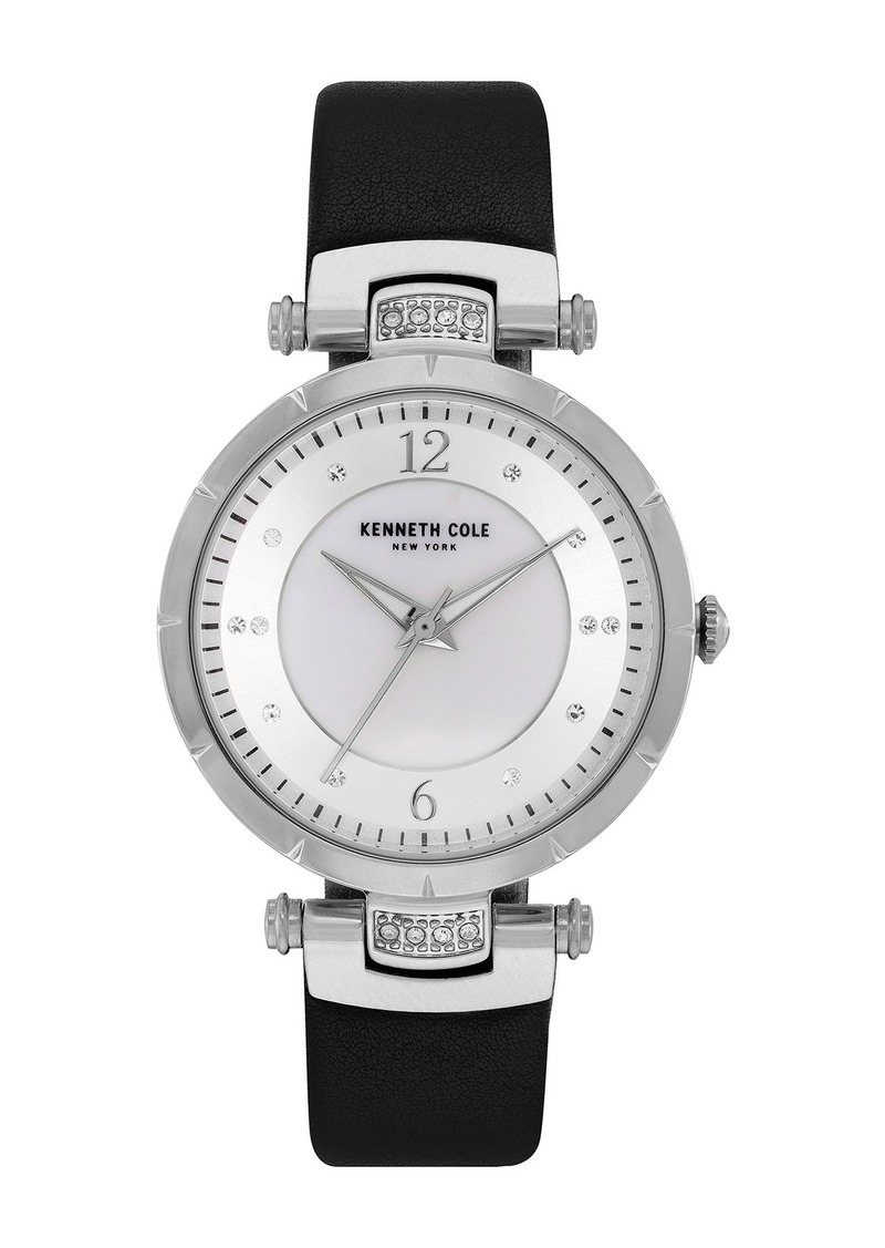 Kenneth Cole Women's Classic Mother of Pearl Bracelet Watch, 34mm
