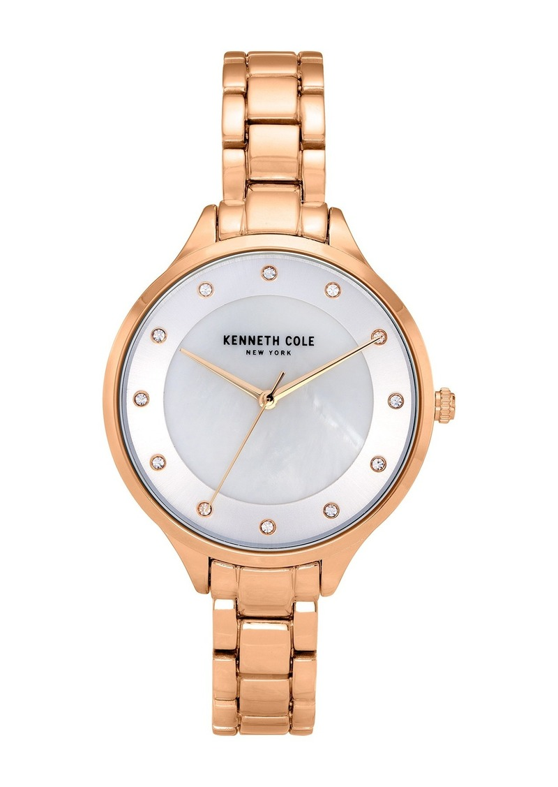 Kenneth Cole Women's Classic Rose Gold Watch, 36mm