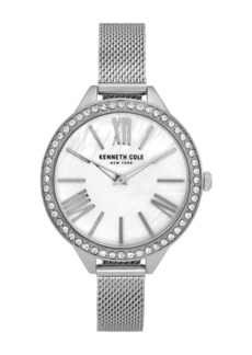 Kenneth Cole Women's Classic Silver Watch, 40mm